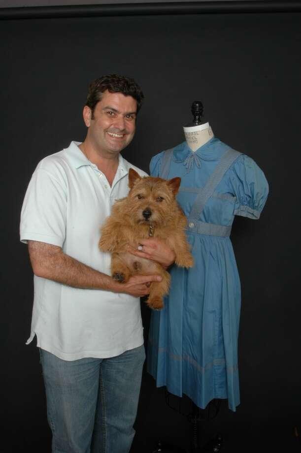 Charlie the dog mugging as Toto.  Photo taken by Russ Fischella Photo: Russ Fischella