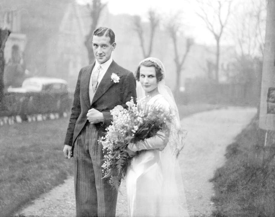Here's a society wedding worthy of Downton Abbey. One of the best-known amateur footballers in early 1930s England, W.T. Whewell marries Miss Eileen Joyce Gale, daughter of Mr and Mrs G.A. Gale of Putney. Whewell was a Cambridge soccer blue, a Corinthian, and an England international several times over. Photo: Planet News Archive, SSPL Via Getty Images