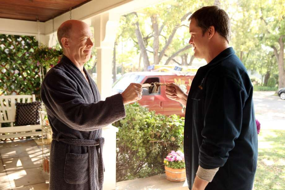 FAMILY TOOLS -JK Simmons, left, and Kyle Bornheimer
