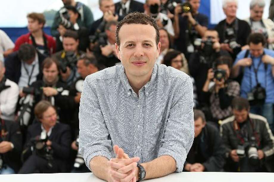 "Mexican director Amat Escalante poses on May 16, 2013 during a photocall for his film ""Heli"" presented in Competition at the 66th edition of the Cannes Film Festival in Cannes."