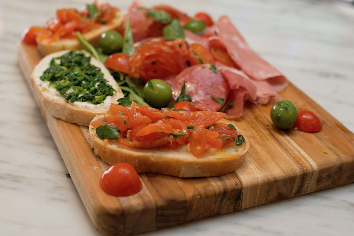 Affettati Misti traditional Italian cured meat and crostini - $12