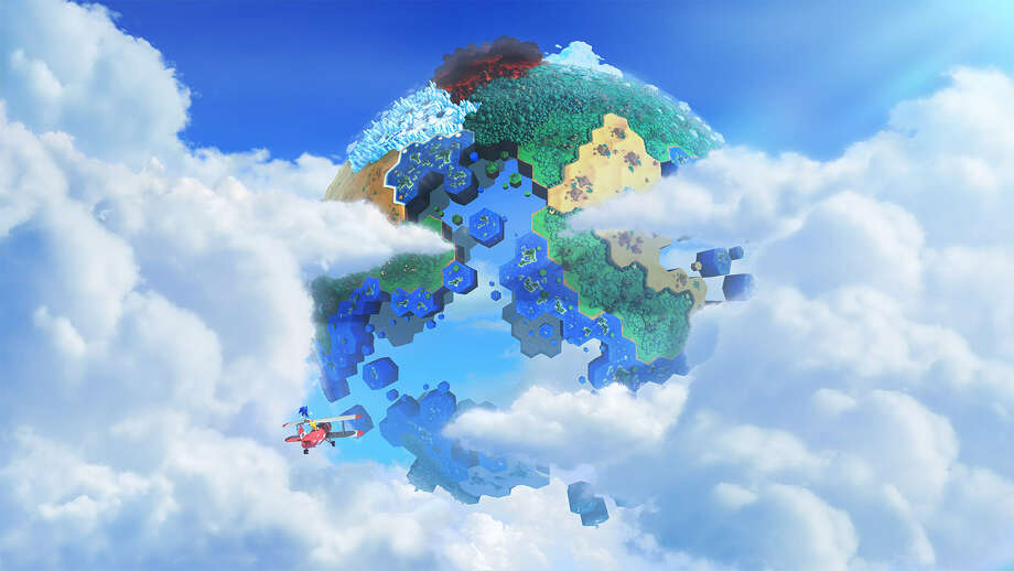 """The Sega video game """"Sonic Lost World"""" is set for release on the Wii U and Nintendo 3DS later this year. Photo: Sega / Associated Press"""