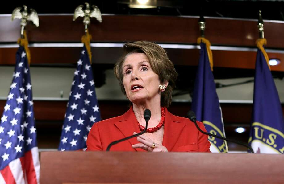 House Minority Leader Nancy Pelosi, D-S.F., says laws on tax-exempt organizations must be clarified. Photo: Molly Riley, Associated Press
