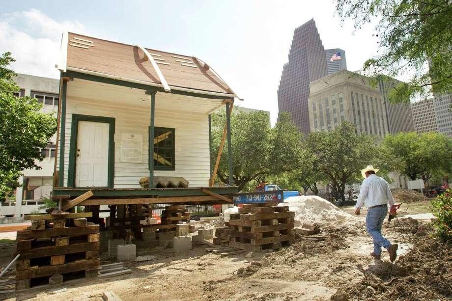 The African-American Fourth Ward cottage will be the second-oldest house museum in the Heritage Society's collection of historic homes, which are located in downtown's Sam Houston Park. Photo: Brett Coomer, Staff / © 2013 Houston Chronicle