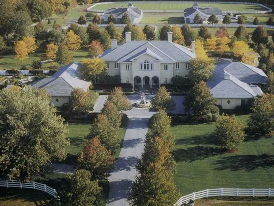 No. 4: Palladian Estate, Greenwich, $28.5 MillionHere's how Trulia.com describes this home, which is the fourth most expensive Connecticut home on the market today, according to the real estate site:  Magnificent south-facing estate by robert lamb hart on exceptional, level high equestrian property with 4 separately deed lots w/ major barns & polo field adjoining 40 acres of land trust. celebrated designers mark hampton & scott snyder did sumptuous interiors w/ superb detailing and proportions. long curving allee driveway to stone courtyard with fountain. spectacular limestone gallery hall w/ sweeping staircase opens to major living room, dining room & panelled library w/ arched french doors to verandh. family room adjoins billiards room & luxurious guest suite. lovely octagonal garden room