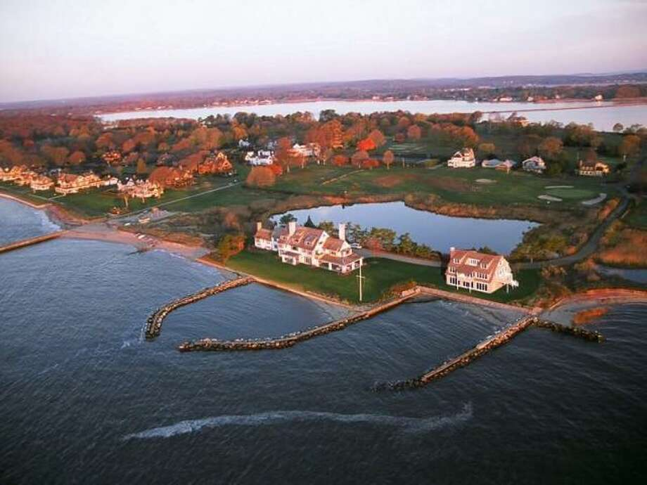 """No. 3: Katharine Hepburn Estate,  Old Saybrook, $30 MillionHere's how Trulia.com describes this home, which is the third most expensive Connecticut home on the market today, according to the real estate site:  Katharine Hepburn former Estate """"Paradise"""" Completely renovated 8368sqft, waterfront, 6 bed (3 suites), 7.5 bth, private dock & beach. Pond opposite side securing privacy. Golf, tennis, boating. Stunning views from this crown jewel! THIS LISTING INCLUDES THE MAIN HOUSE ON 1.47 ACRES AND 2 ADDITIONAL LOTS OF .66 AC AND 1.32 ACRES."""