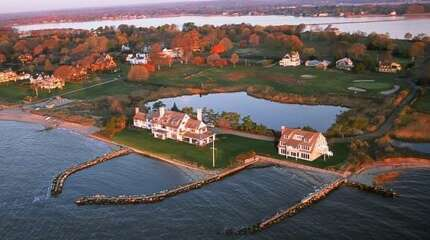 "No. 3: Katharine Hepburn Estate,  Old Saybrook, $30 Million  Here's how Trulia.com describes this home, which is the third most expensive Connecticut home on the market today, according to the real estate site:  Katharine Hepburn former Estate ""Paradise"" Completely renovated 8368sqft, waterfront, 6 bed (3 suites), 7.5 bth, private doc"