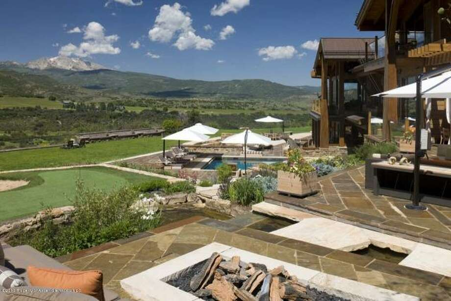 No. 8 (Tie): 875-Acre Ranch, Snowmass Colorado, $75 Million  Here's how Trulia.com describes this home, which is the eighth most expensive home on the market today, according to the real estate site:  Nestled in the Rocky Mountains, just outside Aspen, Four Peaks Ranch offers an unrivaled mountain lifestyle. On 876 acres with views of Mt. Sopris, Mt. Daly, Capital Peak and Snowmass, this extraordinary 18,000-square-foot home is the quintessential mountain paradise. Explore the property on 15-plus miles of trails perfect for hiking, 4-wheeling and horseback riding. Or enjoy the beach where waterfalls flow into 3 majestic ponds, providing a summer-time swim, a day of fishing or an afternoon cookout. For the more adventurous hunting permits are available. Outside enjoy 2 fireplaces, 4 fire pits, 2 full… kitchens and a brick pizza oven.