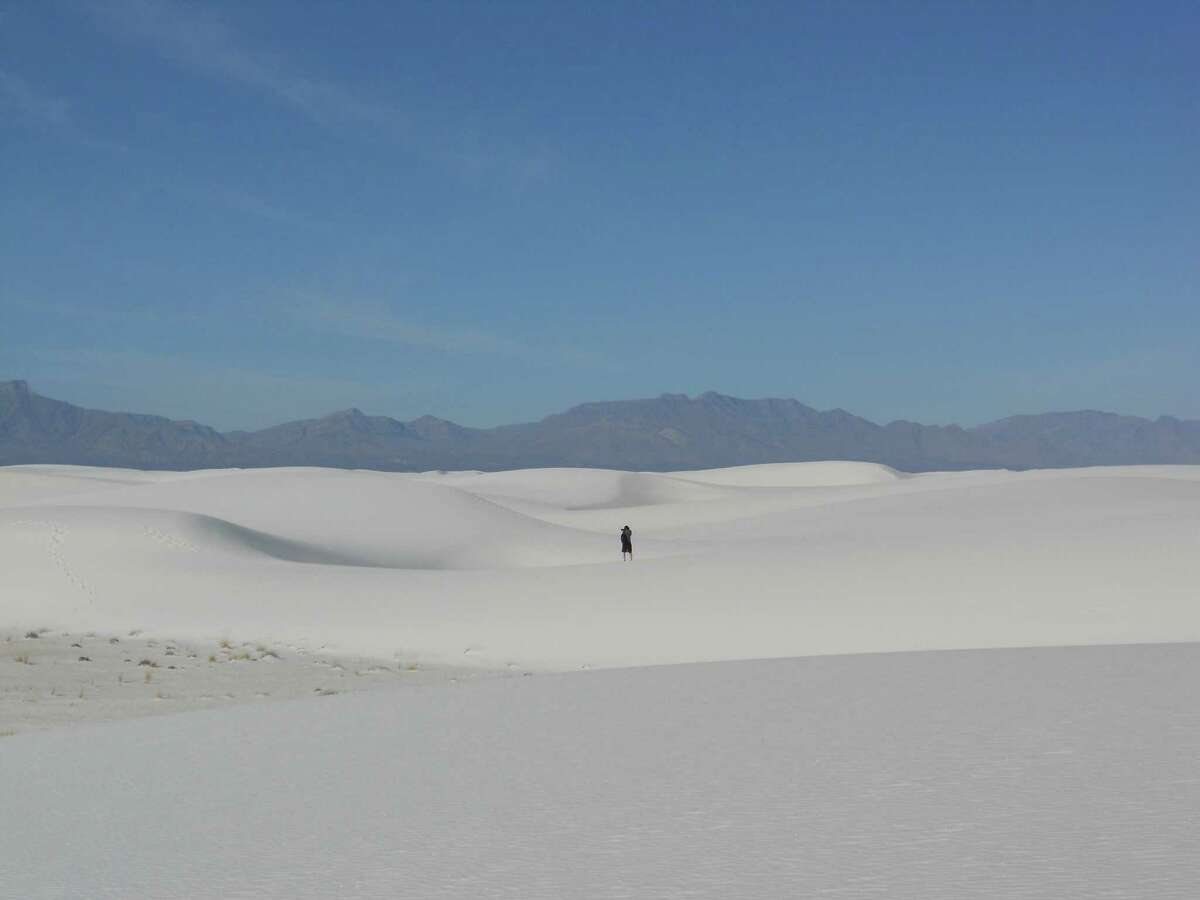 White Sands National Monument, located outside Las Cruces, N.M., is billed as the world's largest gypsum dune field. The monument is a scenic drive from Las Cruces -- a popular spot for a picnic or walk on the dunes.