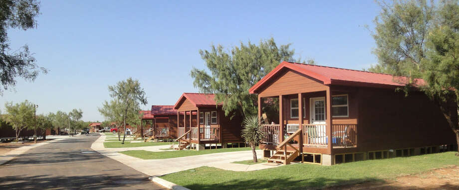 Most of the focus on new housing in the Eagle Ford Shale region is still on temporary lodging, although hotels and lodges are going upscale. At the Double C Resort in Carrizo Springs, a hunting ranch has been transformed into oil field housing with amenities such as  a media and business center. Photo: Double C Resort