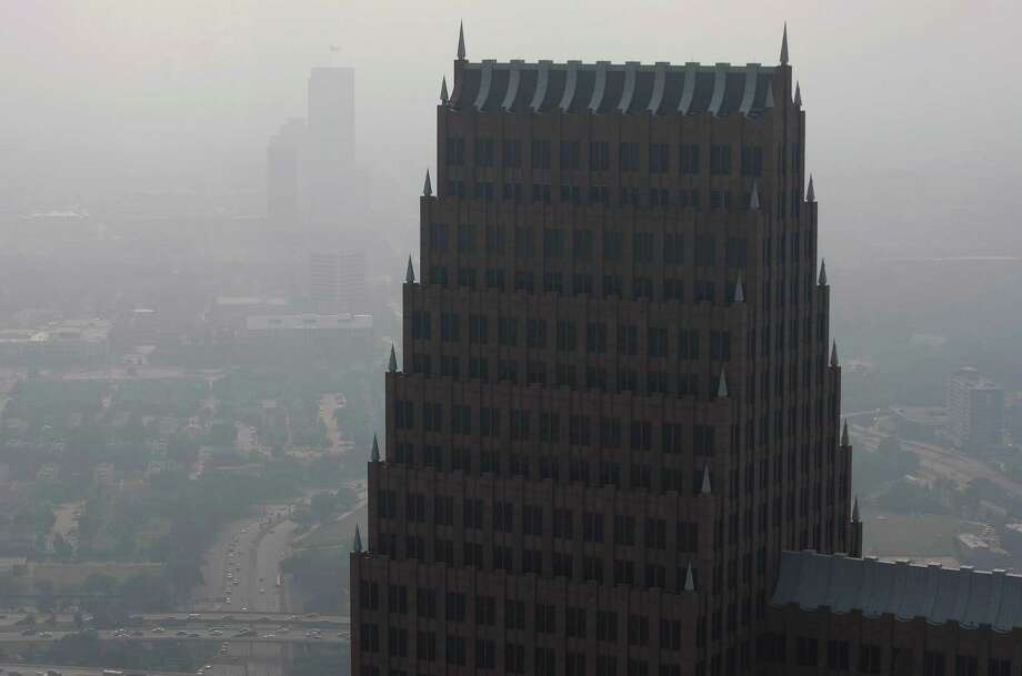 Downtown Houston, May 17, 2013. Photo: Johnny Hanson, Houston Chronicle / © 2013  Houston Chronicle