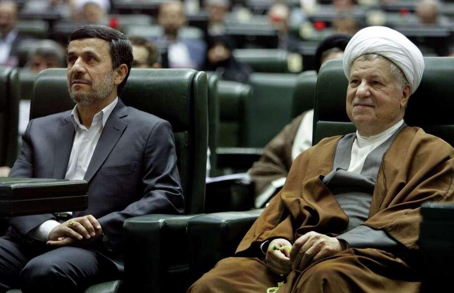 Akbar Hashemi Rafsanjani was once a power broker in Iran.