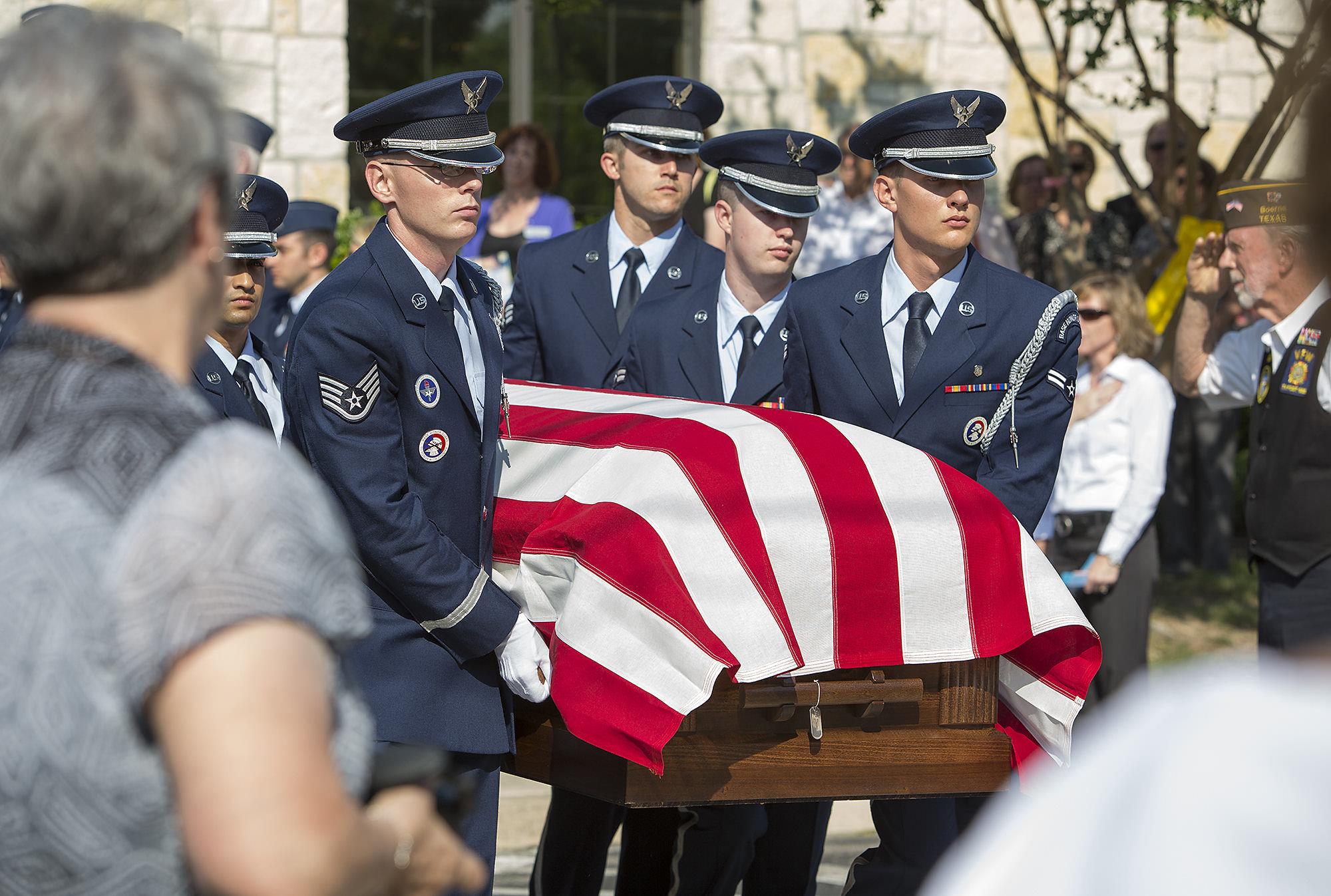 Fallen Af Captain Laid To Rest San Antonio Express News