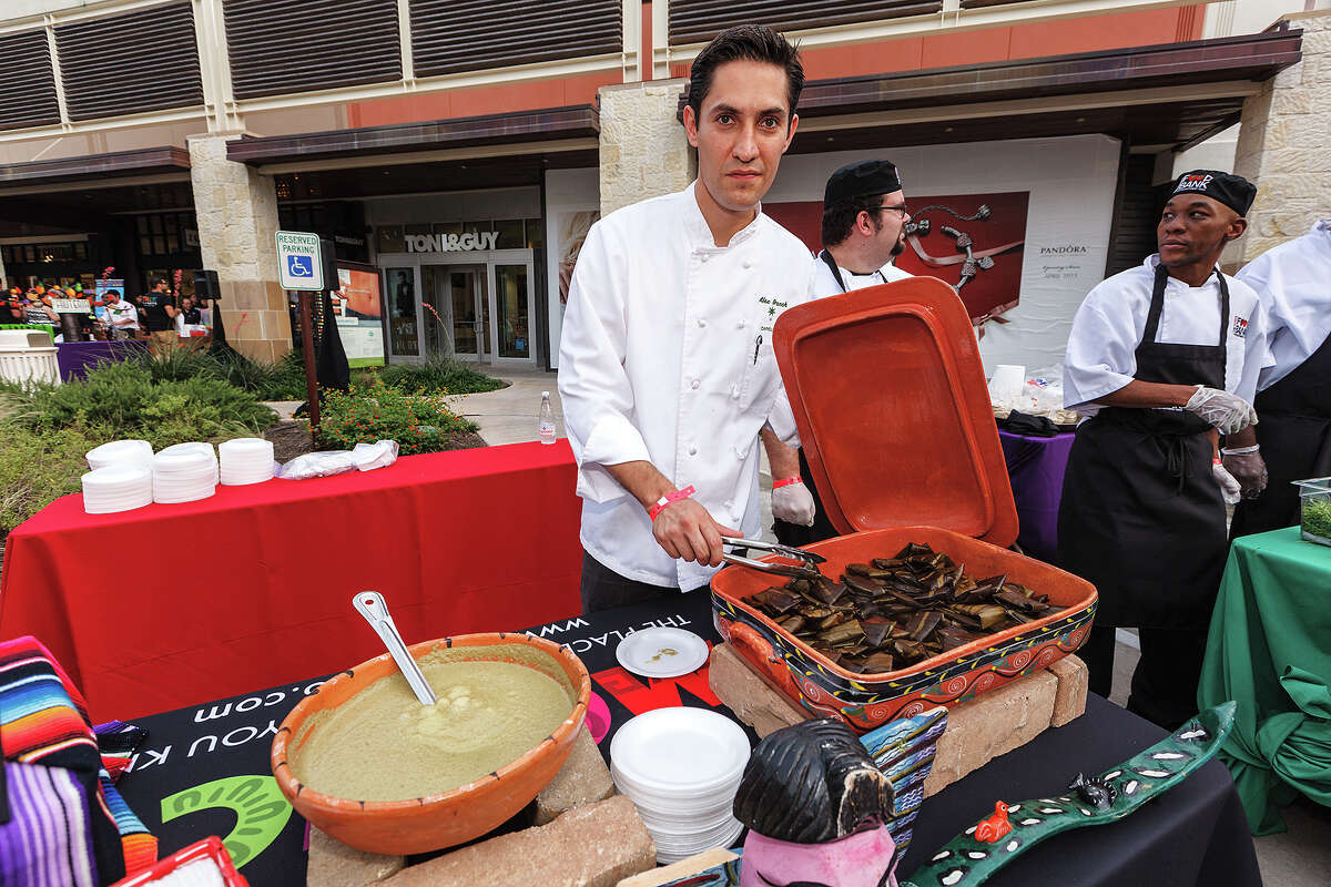 Chef Alexander Branch from Mexico City with Capella Ixtapa Resort and Spa shows off his