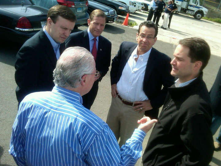 Gov. Dannel P. Malloy and members of the state's congressional delegation meet Saturday morning befo