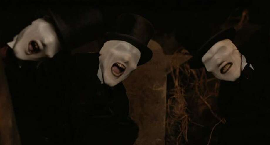 Creepy villains of the finale: The Whispermen
