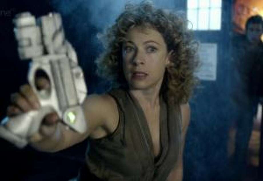 River Song (Alex Kingston) returns with a bang.