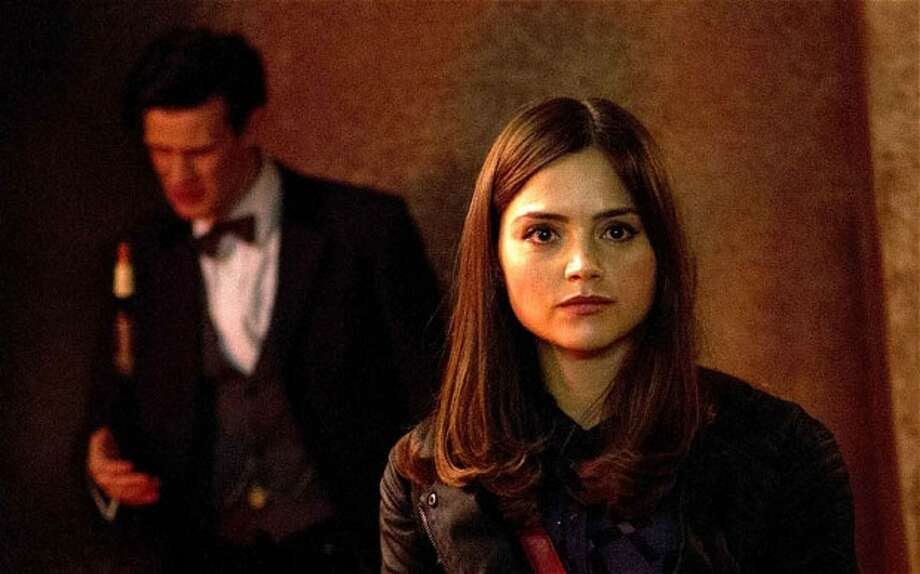 The Doctor (Matt Smith) considers Clara (Jenna-Louise Coleman) his 'Impossible Girl.' Photo: BBC/Adrian Rogers