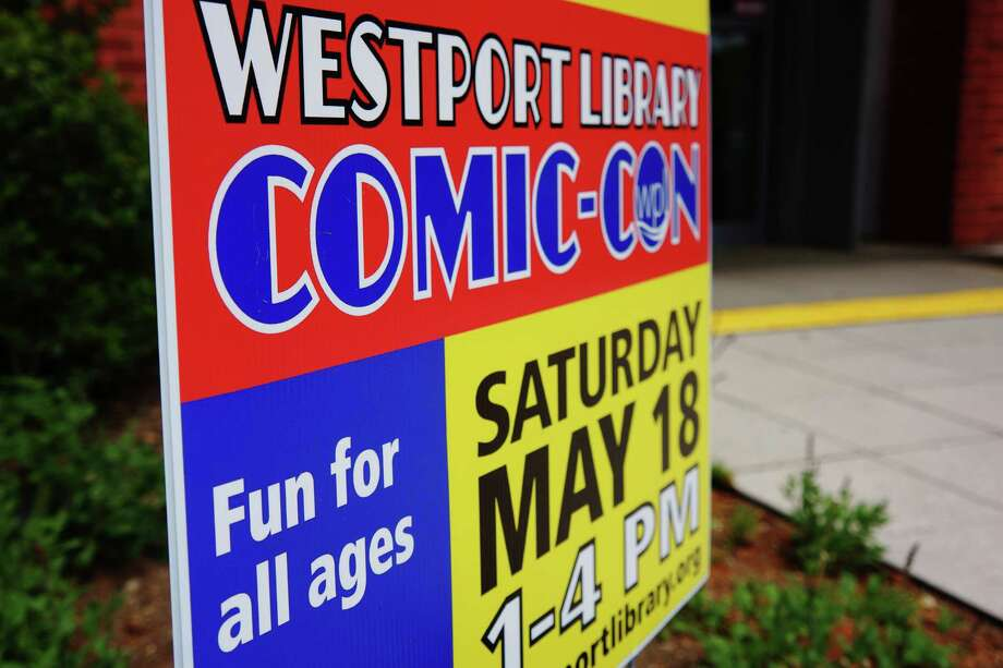 Were you SEEN at Comic-Con? Westport Public Library Saturday afternoon 5/18/2013 Photo: Todd Tracy/ Hearst Connecticut Media Group