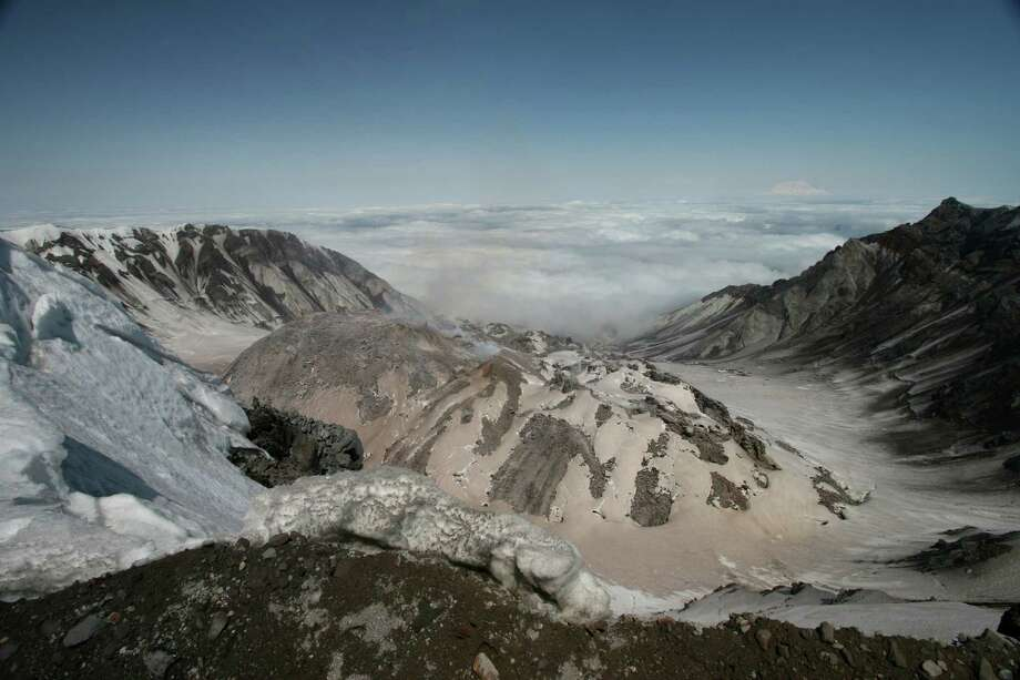 The caldera of Mount St. Helens. Photo: Denny Trimble, Getty Images/Flickr RM / Flickr RM
