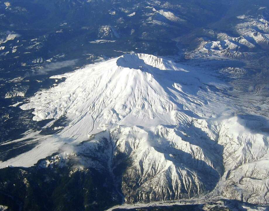 Mount St. Helens in winter. Photo: David F Putnam, Getty Images/Flickr RF / Flickr RF