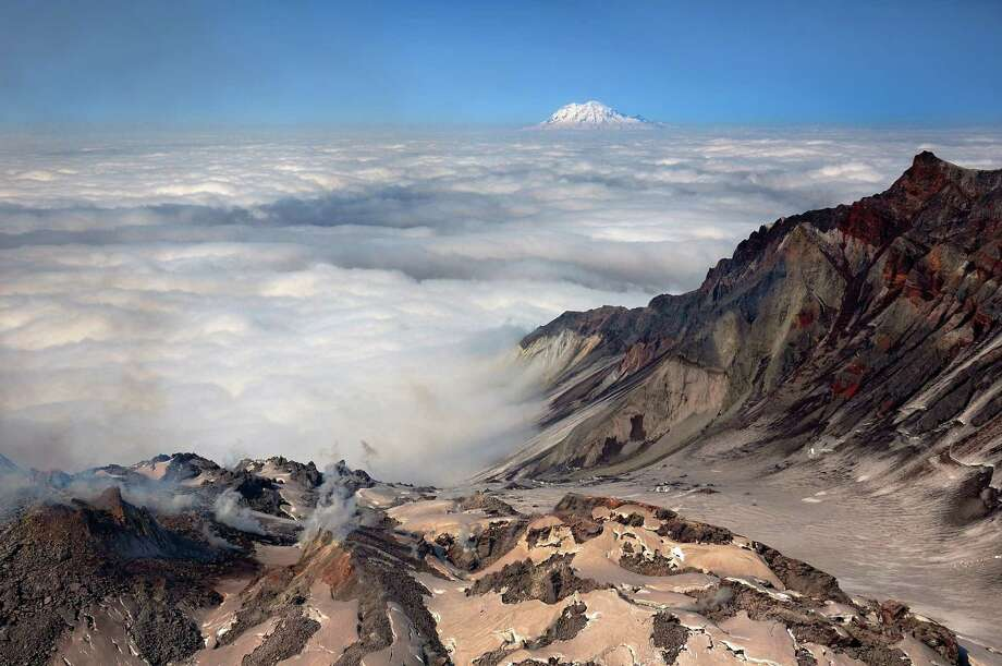 View of the crater. Photo: Tom Schwabel, Getty Images/Flickr RM / Flickr RM