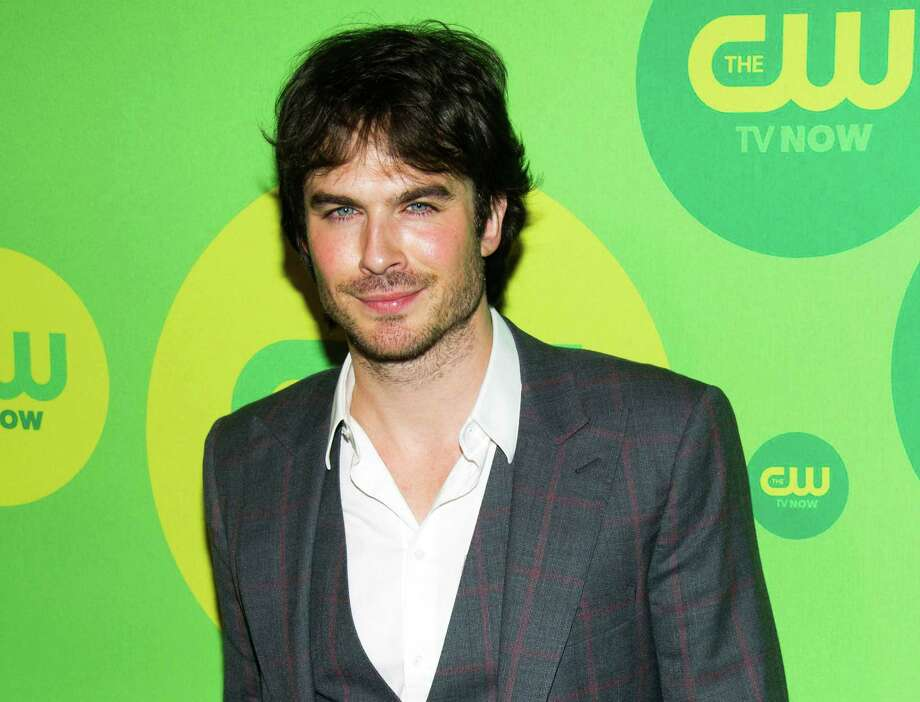 "Ian Somerhalder, from ""The Vampire Diaries,"" attends the CW Upfront on Thursday, May 16, 2013 in New York. (Photo by Charles Sykes/Invision/AP) Photo: Charles Sykes"