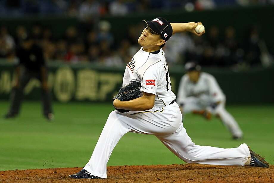 Masahiro Tanaka was the star of Japan's rotation in this spring's World Baseball Classic. Photo: Koji Watanabe, Getty Images