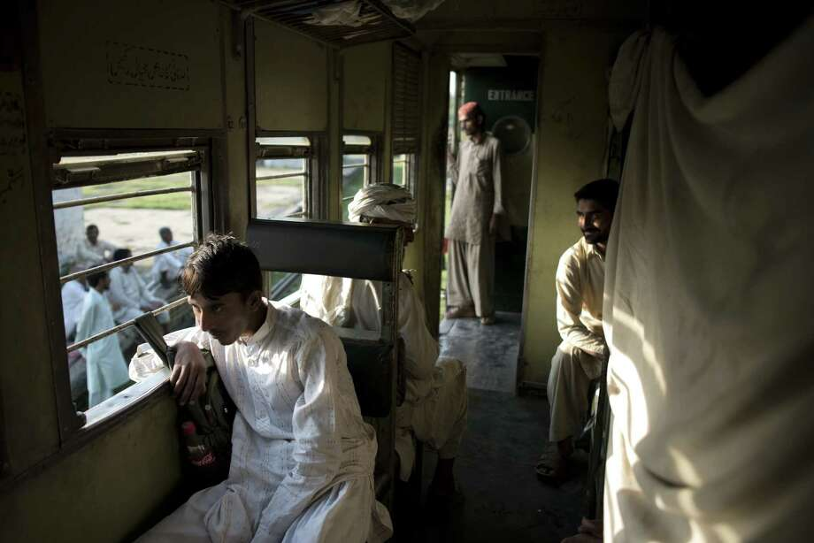 The glamour of train travel is now a distant memory in most of Pakistan, as passenger-use has declined and train lines have been closed. Photo: Andrea Bruce / New York Times