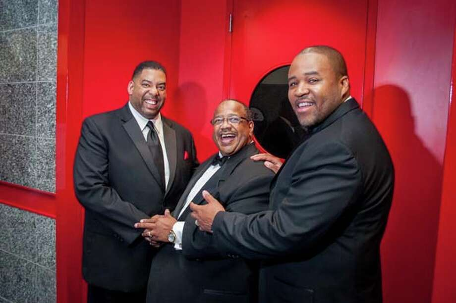 Honorees Pastors Byron Stevenson, Edwin Davis and Michael Pender Photo: Grady Carter, For The Chronicle