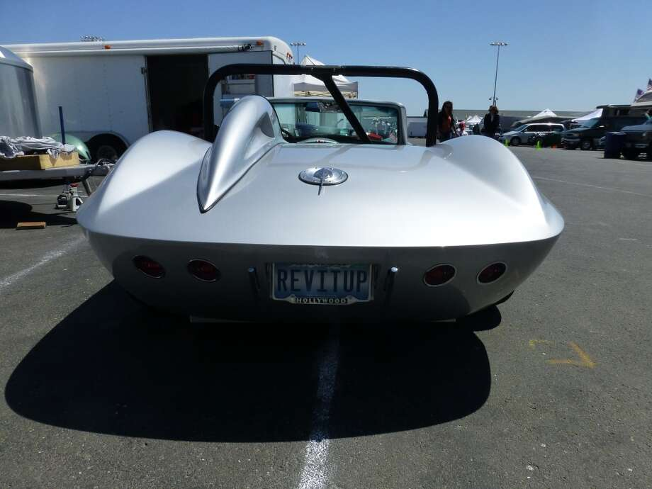 A 1965 Fiberfab Centurion, based on a C2 Corvette chassis.