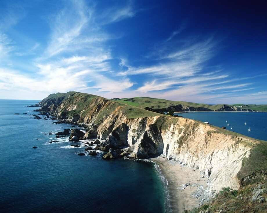 Point Reyes National Seashore, which begins 25 milies from San Francisco's Golden Gate Bridge, has miles of empty ocean beaches, lagoons and marshes, cliffs covered with wildflowers and pristine trails for hiking and horseback riding.