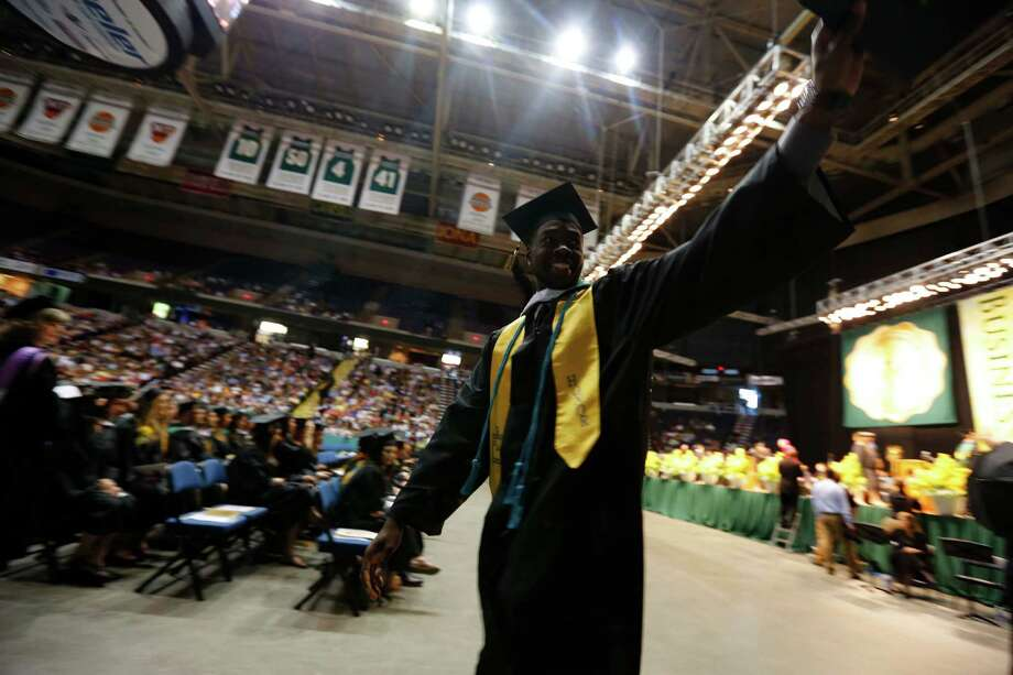 Were you Seen at the Siena College commencement ceremony at the Times Union Center in Albany on Sunday, May 19, 2013? Photo: FJ Gaylor Photography