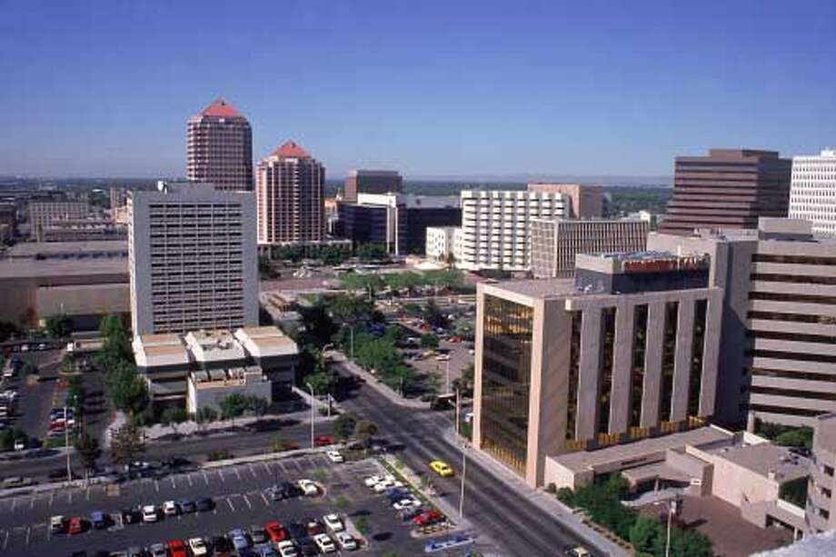 5. Albuquerque, NM:Albuquerque takes the midpoint on our list because of good schools and a large number of park acres per person. / (c) Mark Gibson