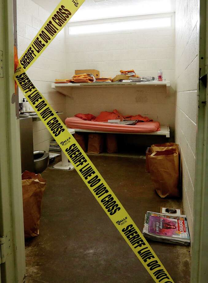 The cell of convicted killer Jodi Arias at the Maricopa County Sheriffs Office Estrella Jail, on Thursday, May 16, 2013, in Phoenix. Arias was convicted of first-degree murder in the gruesome killing of her one-time boyfriend, Travis Alexander, in their suburban Phoenix home. Photo: AP