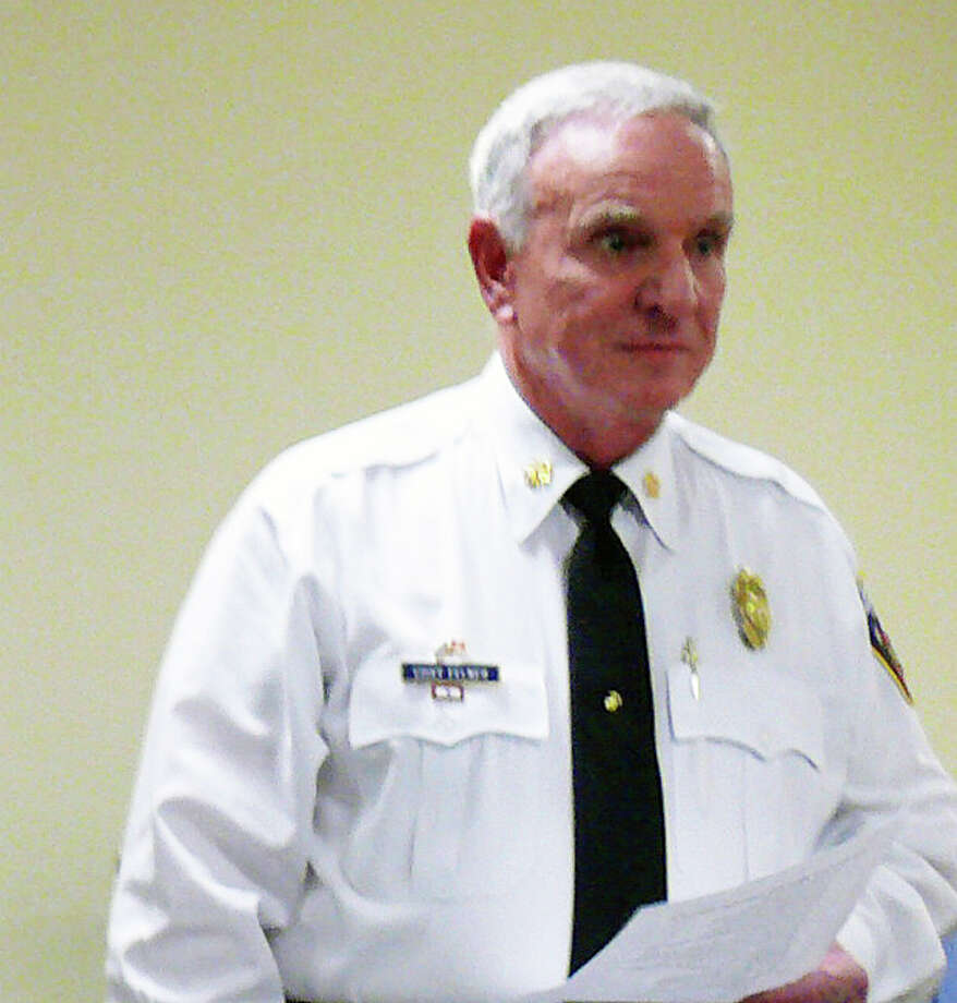Fire Chief Richard Felner would like the Fire Commission to adopt a policy to reduce the number of false fire alarms. Photo: Genevieve Reilly / Fairfield Citizen