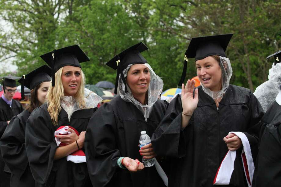 Fairfield University celebrates its 63rd Commencement ceremony on the Fairfield, Conn. campus on Sunday, May 19, 2013. Photo: BK Angeletti, B.K. Angeletti / Connecticut Post freelance B.K. Angeletti