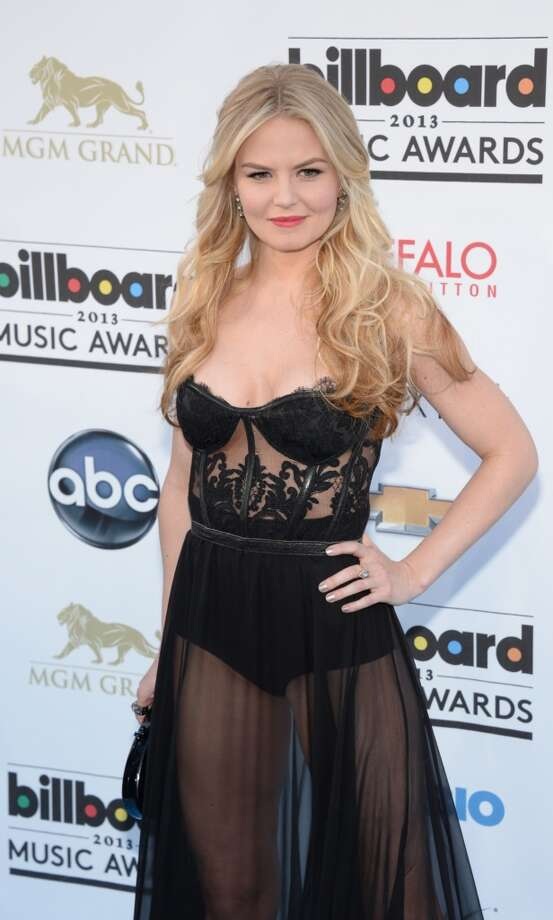 Actress Jennifer Morrison arrives on the red carpet for the 2013 Billboard Music Awards at the MGM Grand in Las Vegas, Nevada, May 19, 2013.   AFP PHOTO / ROBYN BECKROBYN BECK/AFP/Getty Images