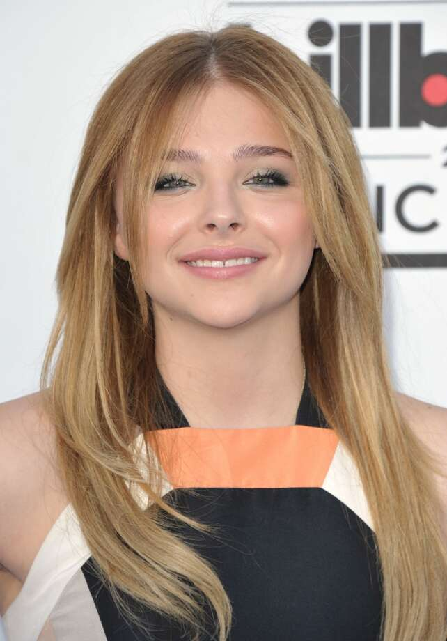 Chloe Grace Moretz arrives at the Billboard Music Awards at the MGM Grand Garden Arena on Sunday, May 19, 2013 in Las Vegas. (Photo by John Shearer/Invision/AP)