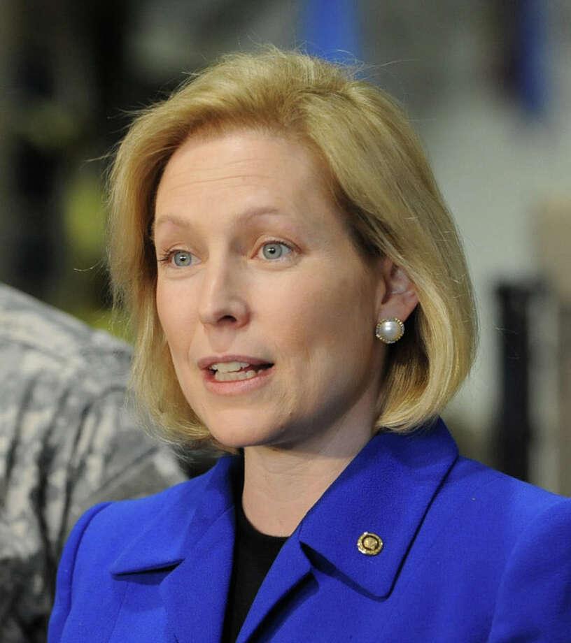 U.S. Sen. Kirsten Gillibrand, D-N.Y. (Lori Van Buren / Times Union) Photo: Lori Van Buren / 00012615A