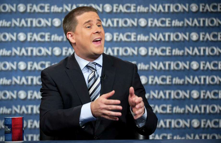 "In this Sunday, May 19, 2013, photo provided by CBS News White House senior advisor Dan Pfeiffer speaks on CBS's ""Face the Nation"" in Washington. Pfeiffer was scheduled to appear on five Sunday news shows Sunday, where he stated no senior officials were involved in the decision to give tea party groups extra scrutiny by the IRS. (AP Photo/CBS, Chris Usher) Photo: CHRIS USHER"