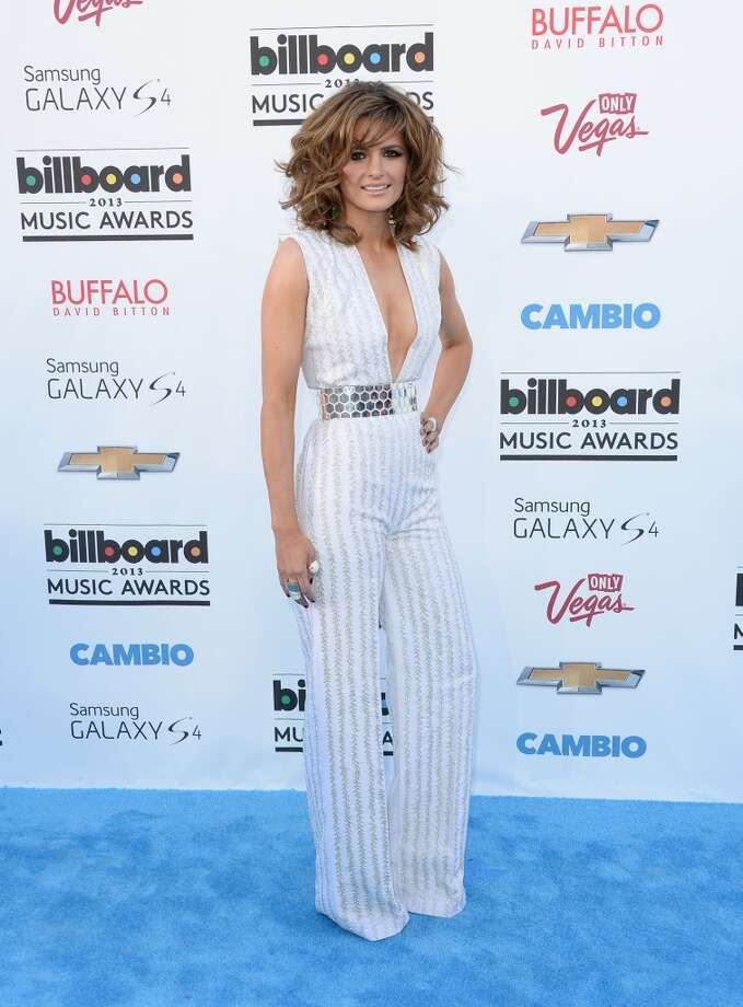 LAS VEGAS, NV - MAY 19:  Actress Stana Katic arrives at the 2013 Billboard Music Awards at the MGM Grand Garden Arena on May 19, 2013 in Las Vegas, Nevada.  (Photo by Jason Merritt/Getty Images)