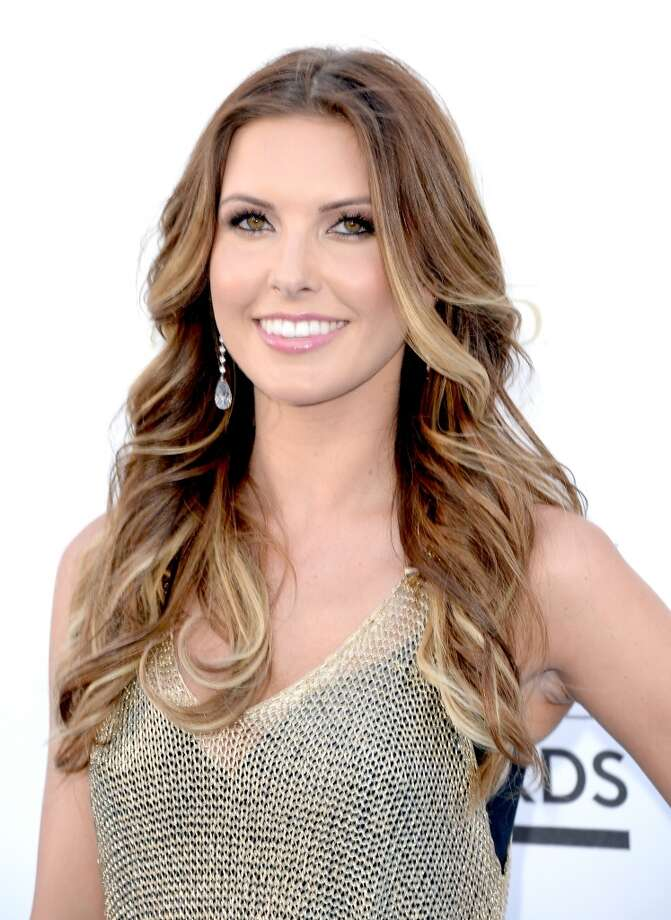LAS VEGAS, NV - MAY 19:  TV personality Audrina Partridge arrives at the 2013 Billboard Music Awards at the MGM Grand Garden Arena on May 19, 2013 in Las Vegas, Nevada.  (Photo by Jason Merritt/Getty Images)