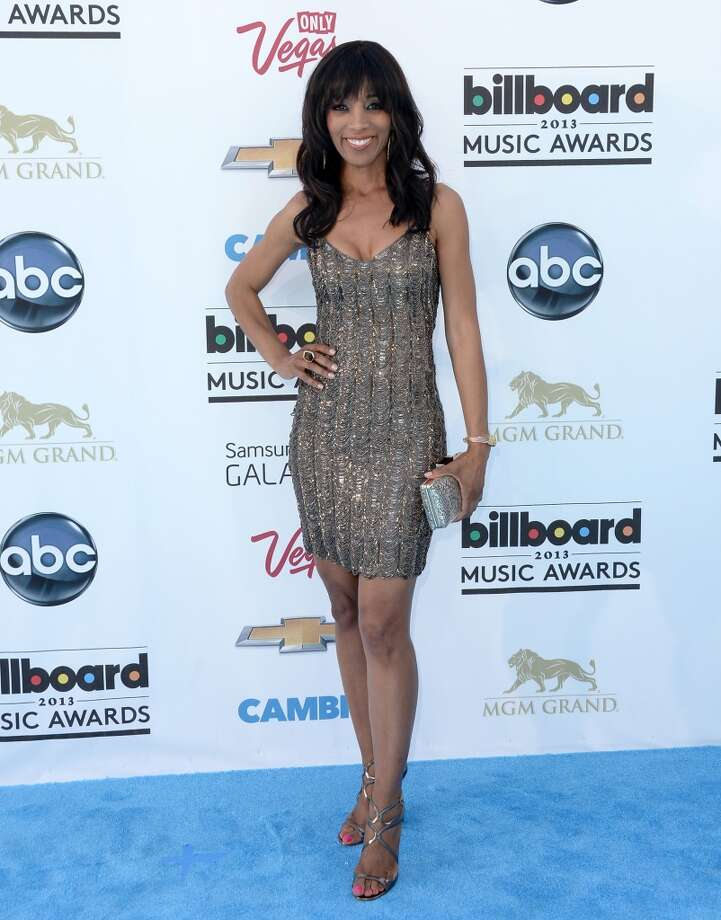 LAS VEGAS, NV - MAY 19:  TV personality Shaun Robinson arrives at the 2013 Billboard Music Awards at the MGM Grand Garden Arena on May 19, 2013 in Las Vegas, Nevada.  (Photo by Jason Merritt/Getty Images)