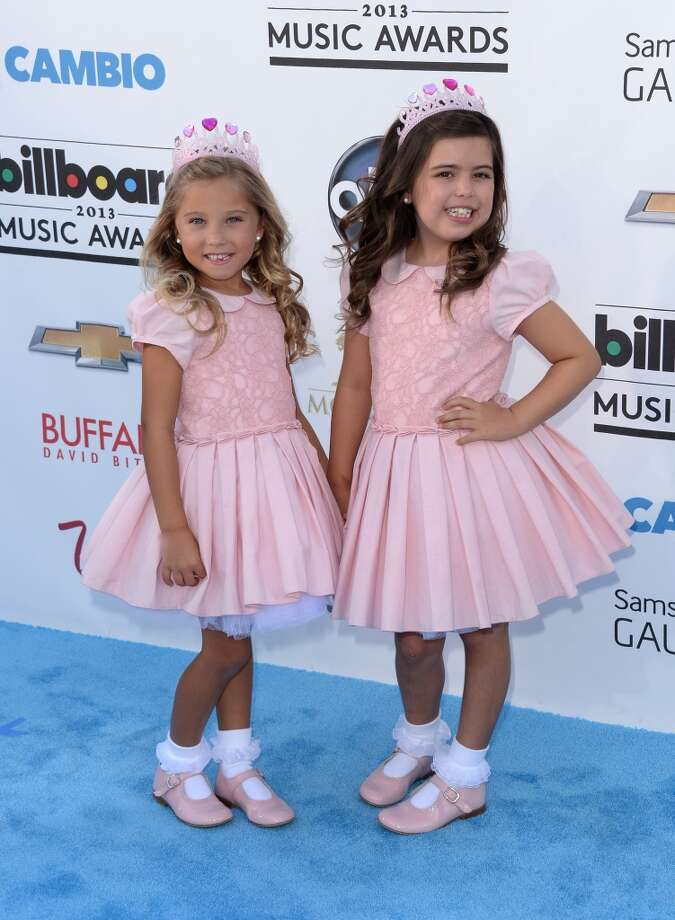 LAS VEGAS, NV - MAY 19:  TV personalities Rosie (L) and Sofia Grace arrive at the 2013 Billboard Music Awards at the MGM Grand Garden Arena on May 19, 2013 in Las Vegas, Nevada.  (Photo by Jason Merritt/Getty Images)