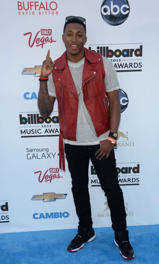 Lecrae arrives on the red carpet at the 2013 Billboard Music Awards at the MGM Grand in Las Vegas, Nevada, May 19, 2013.   AFP PHOTO / ROBYN BECKROBYN BECK/AFP/Getty Images
