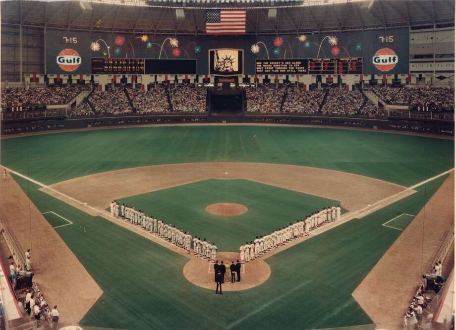 At the 1968 MLB All-Star Game in Houston as the Astrodome, 48,321 fans watched as the National League won, 1-0.
