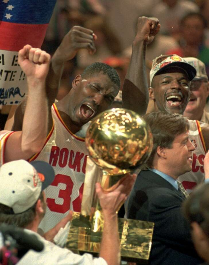 Twenty-one years ago today, the Rockets clinched their second NBA championship by sweeping Orlando and became the first team to win the title as a No. 6 seed. They also were the first squad to beat four 50-win teams in a single postseason.Click through the gallery to revisit memorable moments from the Rockets' playoff runs.