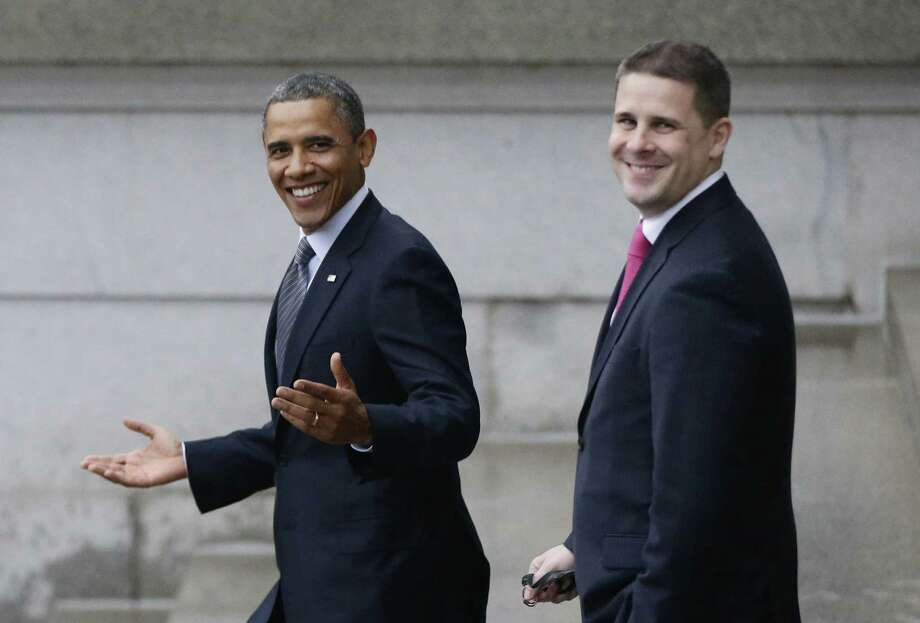 """Dan Pfeiffer, a senior adviser to President Barack Obama, was on all five major Sunday morning talk shows in hopes of moving the White House past what some have described as a """"hell week"""" of missteps and controversy. Photo: Associated Press File Photo"""