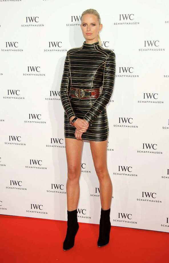 Karolina Kurkova attends the IWC FilmMakers dinner during The 66th Annual Cannes Film Festival on May 19, 2013 in Cannes, France.  (Photo by Mike Marsland/WireImage) Photo: Mike Marsland, Getty Images / 2013 Mike Marsland